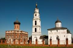 Russian church. Volokolamsk kremlin (15-18 centuries) Moscow region, Russia Royalty Free Stock Photography