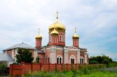 Russian church Stock Image