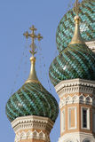Russian church. Russian, orthodox, church in the Nice in the South of France Royalty Free Stock Photography