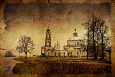 Russian church Royalty Free Stock Photography