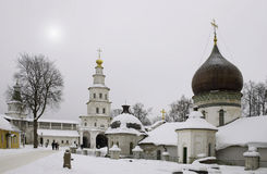 Russian church. Royalty Free Stock Images