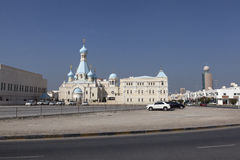 Russian Church of the Apostle Philip. Sharjah. United Arab Emirates Royalty Free Stock Image
