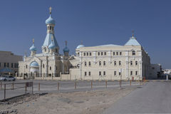 Russian Church of the Apostle Philip. Sharjah. United Arab Emirates Royalty Free Stock Photos