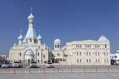 Russian Church of the Apostle Philip. Sharjah. United Arab Emirates Stock Photos