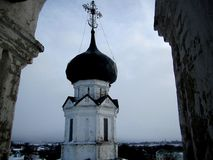 Russian church dome Stock Photography