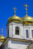 Russian church Stock Image