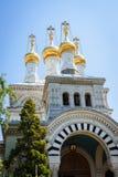 Russian church, Geneva, Switzerland Stock Photo