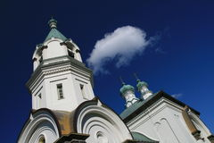 Russian Church in Hakodate stock images