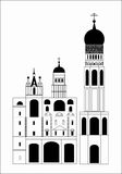 The Russian Church Royalty Free Stock Images