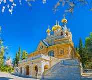 The Russian Church in Jerusalem Stock Photos