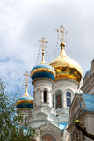 Russian Church in Karlovy vary Royalty Free Stock Image