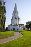 Russian church. Kolomenskoye. Moscow. Russia. Kolomenskoye - the residence of Moscow Grand Princes and Russian Tsars became known in the XIV century. Here is the Royalty Free Stock Photography