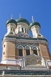 Russian Church in Nice Royalty Free Stock Photography
