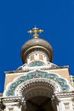 Russian Church in Nice Stock Photos