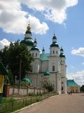 Russian church. Nice picture of old russian church stock photo