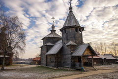 Russian Church Stock Photography