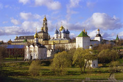 Russian Church Panorama Stock Photo
