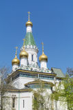 The Russian Church   in Sofia,Bulgaria Royalty Free Stock Photography