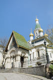The Russian Church   in Sofia,Bulgaria Stock Photos