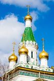 The Russian Church in Sofia, Bulgaria Stock Photography
