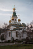 Russian Church in Sofia Royalty Free Stock Photos