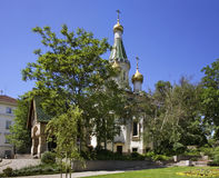 Russian Church of St Nicholas the Miracle-Maker in Sofia. Bulgaria Stock Image