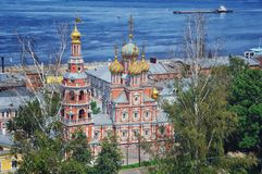 Russian Church in Summer Royalty Free Stock Images