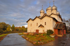 Russian Church at Sunset Stock Image