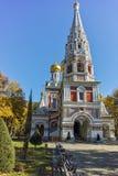 Russian church in town of Shipka, Stara Zagora Region Royalty Free Stock Image