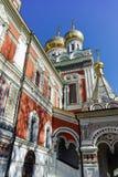 Russian church in town of Shipka, Stara Zagora Region Royalty Free Stock Photo
