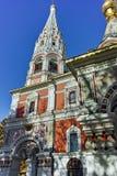 Russian church in town of Shipka, Stara Zagora Region Royalty Free Stock Photos