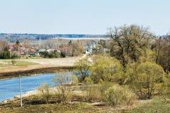 Free Russian Church, Village, Moskva River In Mozhaysk Stock Image - 40138341