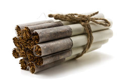 Russian cigarette Royalty Free Stock Photography