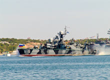 Russian coastal defence warship Bora-class Royalty Free Stock Photos