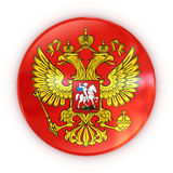 Russian coat of arms - badge Royalty Free Stock Photography