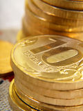 Russian coins Royalty Free Stock Photos