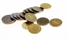 Russian coins Stock Photography