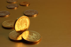 Russian coins Stock Image
