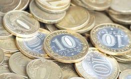 Russian coins Stock Photos
