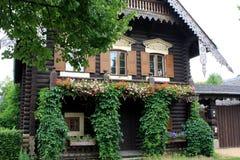 The Russian Colony Alexandrowka, Potsdam. Typical house in the Russian Colony Alexandrowka, Potsdam, Germany Royalty Free Stock Images