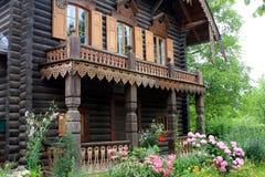 The Russian Colony Alexandrowka, Potsdam. Typical house in the Russian Colony Alexandrowka, Potsdam, Germany Stock Photography