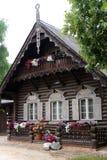 The Russian Colony Alexandrowka, Potsdam. Typical house in the Russian Colony Alexandrowka, Potsdam, Germany Stock Images