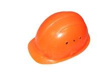 Russian construction helmet Royalty Free Stock Image