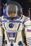 Russian cosmonaut - space suit Stock Photos
