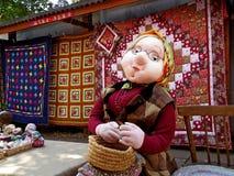 Russian crafts craftsmen Stock Photo