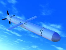 Russian cruise missile Stock Photography