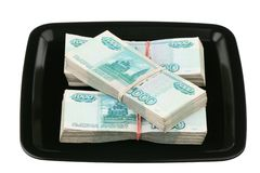 Russian currency Royalty Free Stock Images