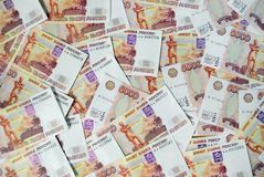 The Russian currency Royalty Free Stock Images