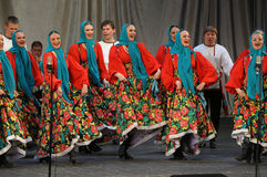 Russian dance Stock Photography
