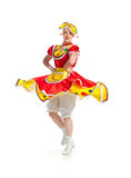 Russian dance Royalty Free Stock Photography
